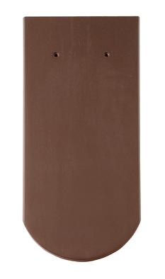 13 темно-коричневый МАТОВЫЙ керамическая черепица braas опал