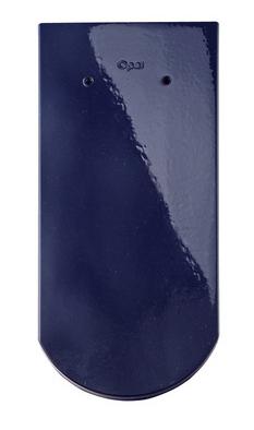 20 синий бриллиант ТОП-ГЛАЗУРЬ керамическая черепица braas опал