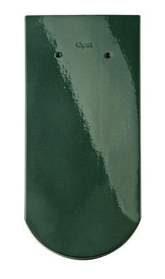 21 зеленая ель ТОП-ГЛАЗУРЬ керамическая черепица braas опал