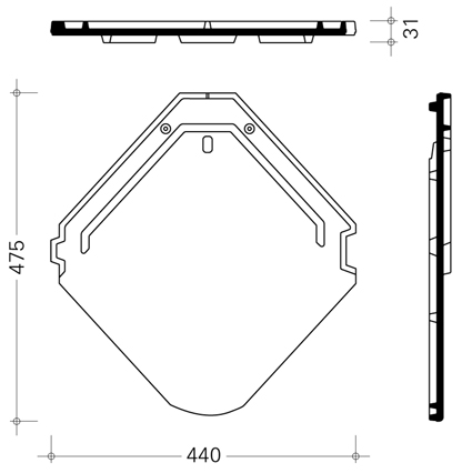 4 чертеж керамическая черепица браас изумруд